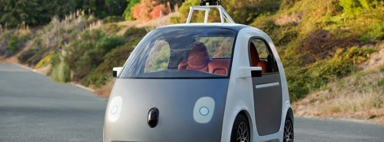 Google's self-driving cars are likely the compan'ys most famous IoT technology.