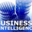 Graphic of a data with the caption Business Intelligence
