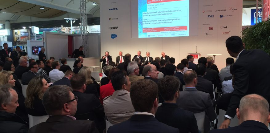 Industrie 4.0 Meets Industrial Internet Panel Discussion at Hannover Messe 2016