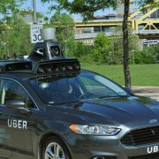 Uber is testing self-driving cars in Pittsburgh.