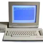 The Commodore 64 was one of the first PCs.