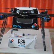 Domino's Pizza and Flirtey are experimenting with drone-based pizza delivery.