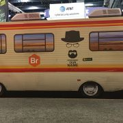 Breaking Bad–themed stand from Bromium at RSA