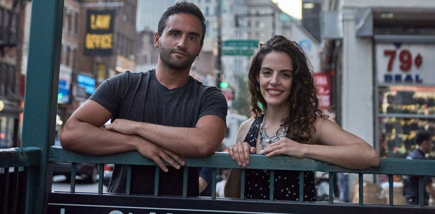 Jorge and Daniela, co-founders of goTenna