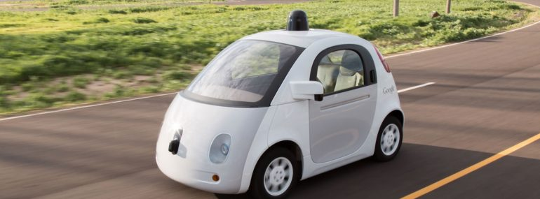 Google's self-driving cars are likely its most famous IoT technology