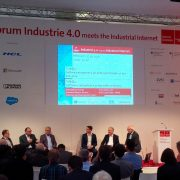 Hannover Messe Forum with IIC and Industrie 4.0