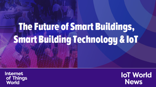 Slide of the Future of Smart Buildings, Smart Building Technology and IoT presentation