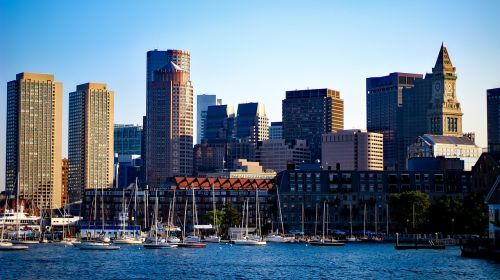 Image of Boston waterfront
