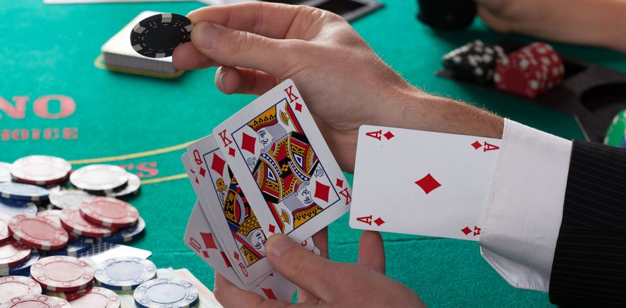Network security can be like poker.