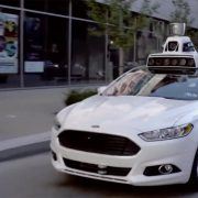 Driverless car debuts in Pittsburgh.
