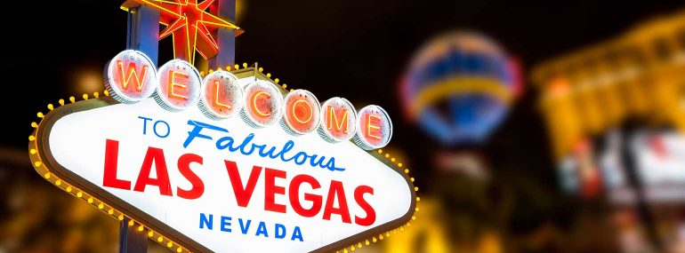 Las Vegas' iconic welcome sign