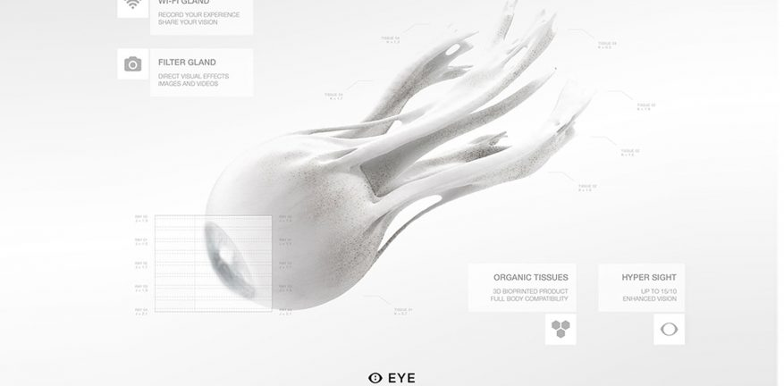 MHOX synthetic eye concept