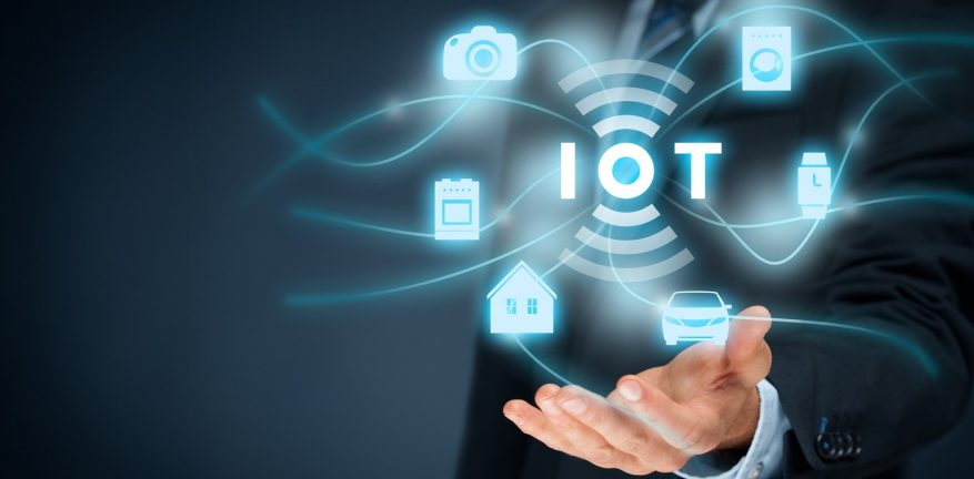 Abstract illustration of network and IoT