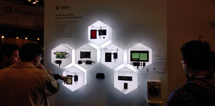 IoT devices by Artik on display at IoT World 2018