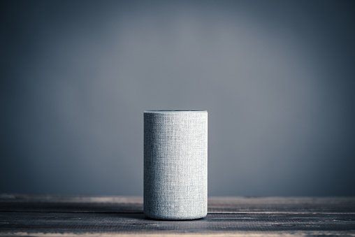 Image of a smart speaker