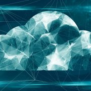 Image shows cloud computing big data online storage and The Internet of things (IoT) network of physical devices, vehicles,