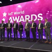 Winners of the first annual IoT World Award Winners in Santa Clara, California