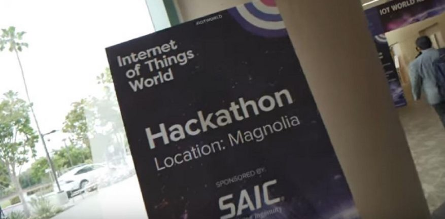 """Smart AG"" wins the Internet of Things World 2019 IoT hackathon."